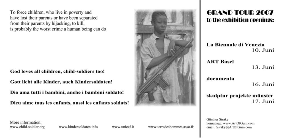 Spenden Kindersoldaten